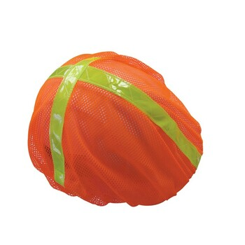13761 ERB S291 HARD HAT COVER Hi Viz Orange Safety Apparel - Aware Wear & Hi Viz Ts