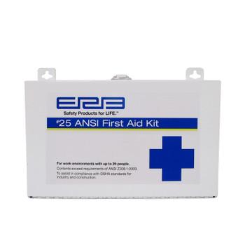 17150 ERB FAK ANSI 25P Metal First Aid