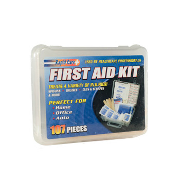 17139 ERB Economy 107pc First Aid Kit First Aid