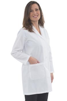 82528 ERB L1 Female Lab Coat 2X Safety Apparel