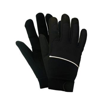 21202 ERB M100 Black LG Gloves