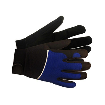 21205 ERB M100 Blue MD Gloves