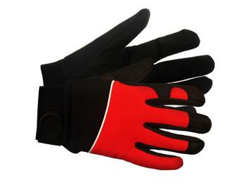 21210 ERB M100 Red MD Gloves