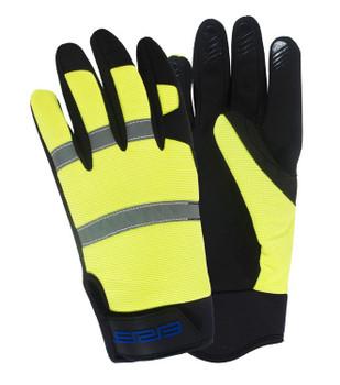 21302 ERB M200 Hi Viz Lime LG Gloves