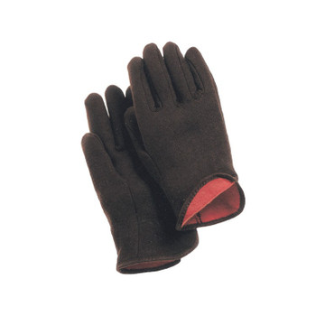 14470 ERB Lined Brown Jersey Gloves