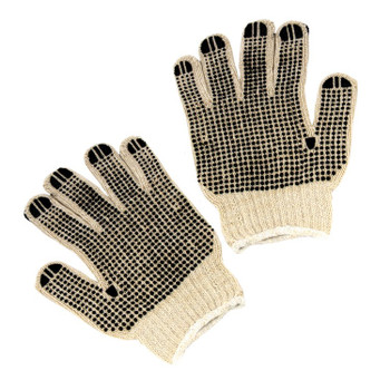 14456 ERB String with PVC Dots 2 sided, Large Gloves