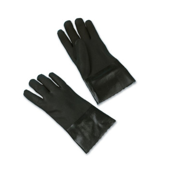 14450 ERB Black PVC Double Dipped Gloves
