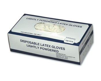 14419 ERB Disposable Latex Glove MD Gloves