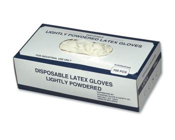 14421 ERB Disposable Latex Glove XL Gloves