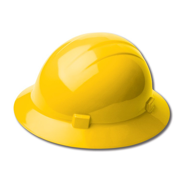 19202 ERB Americana Full Brim Standard Yellow hard hats