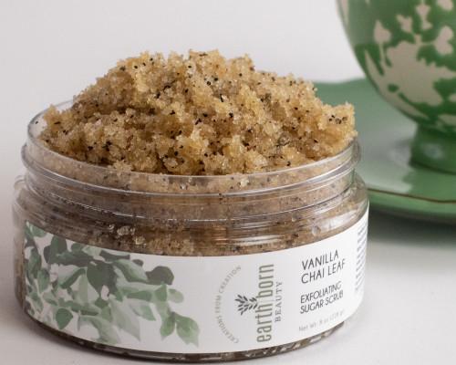 Vanilla Chai Leaf Exfoliating  Sugar Scrub