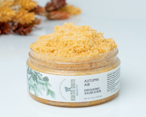 Autumn Air Exfoliating  Sugar Scrub
