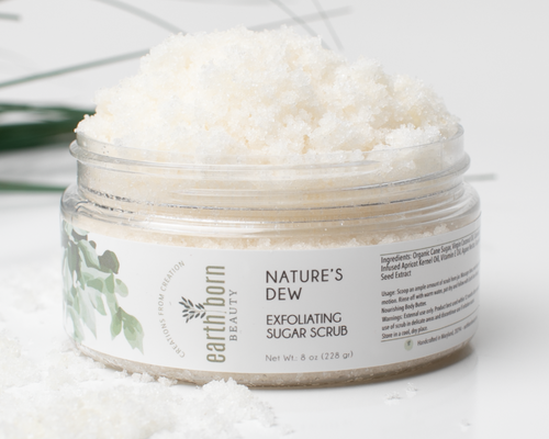 Nature's Dew Exfoliating  Sugar Scrub