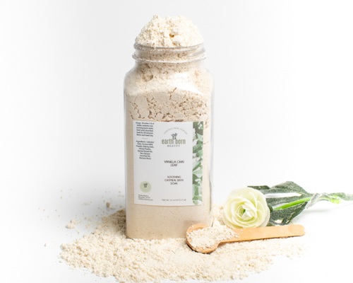 Vanilla Chai Leaf Soothing Coconut Oatmeal Bath Soak