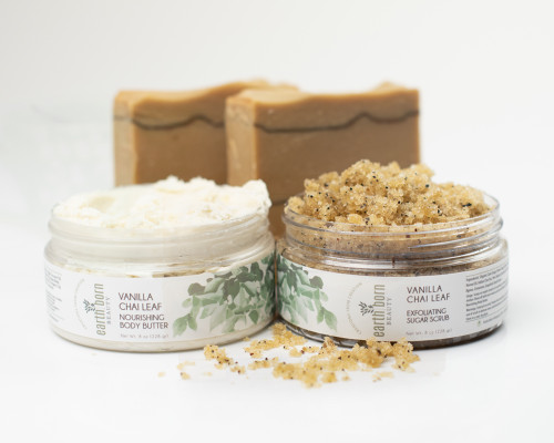 Vanilla Chai Leaf Skincare Collection