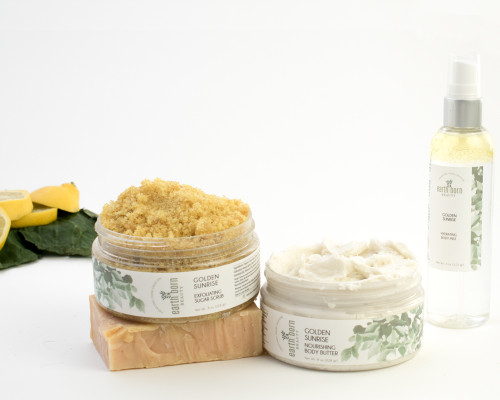 Golden Sunrise Skincare Collection