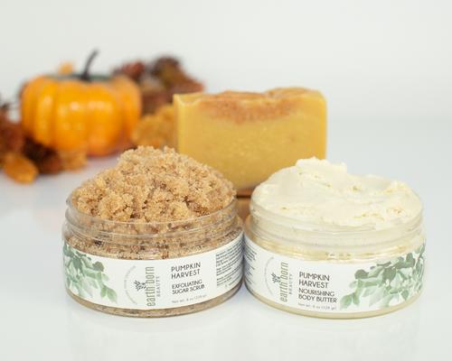 Pumpkin Harvest Skincare Collection