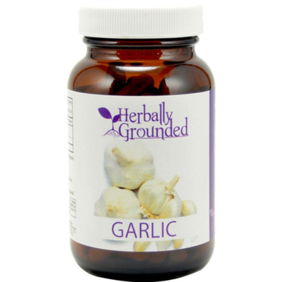 Herbally Grounded Garlic 100 Caps