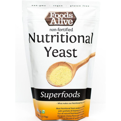 Foods Alive Nutritional Yeast 6oz