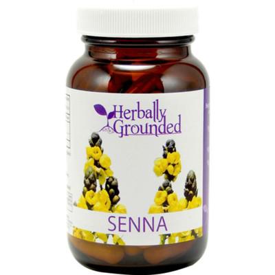 Herbally Grounded Senna 100 caps