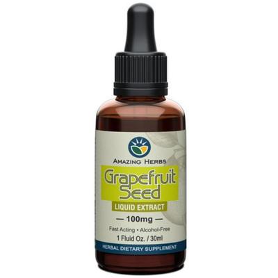 Amazing Herbs Grapefruit Seed Extract - 1 fl oz