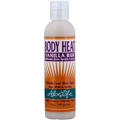 Aloe Life Body Heat Rub