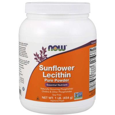 NOW Sunflower Lecithin Pure Powder