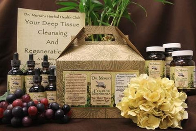 Dr Morse Deep Tissue Cleansing and Regeneration Kit Weeks 1-2