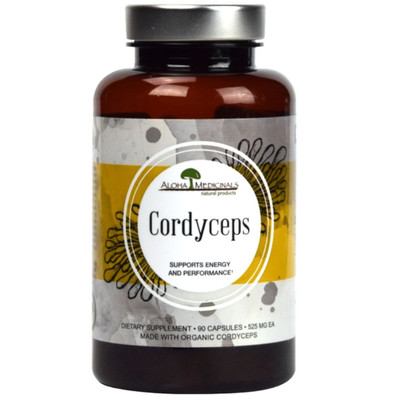 Aloha Medicinals Pure Cordyceps - 90 caps