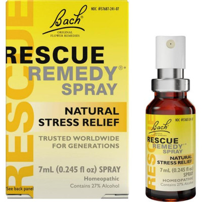 Bach Rescue Remedy Natural Stress Relief Spray