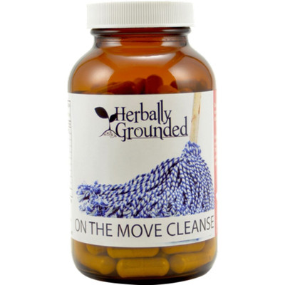 Herbally Grounded On the Move Cleanse  (120 caps)
