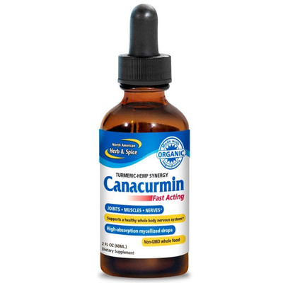 North American Herb & Spice Canacurmin Drops