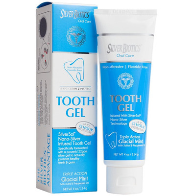 Silver Biotics  Tooth Gel Nano-Silver Infused