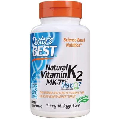 Doctors Best Vitamin K2 w/ MenaQ7  60 caps