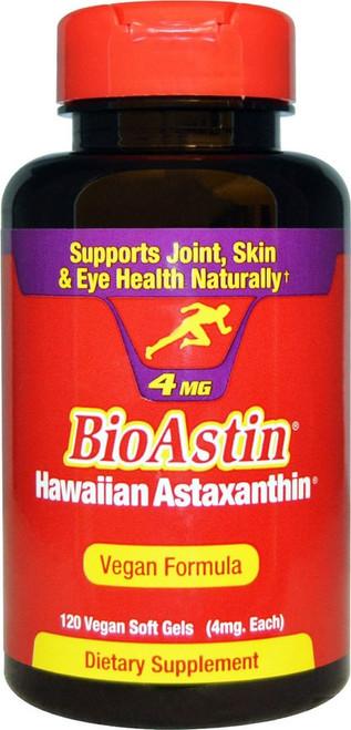 Nutrex BioAstin  Astaxanthin  (4 mg) 120 gel caps