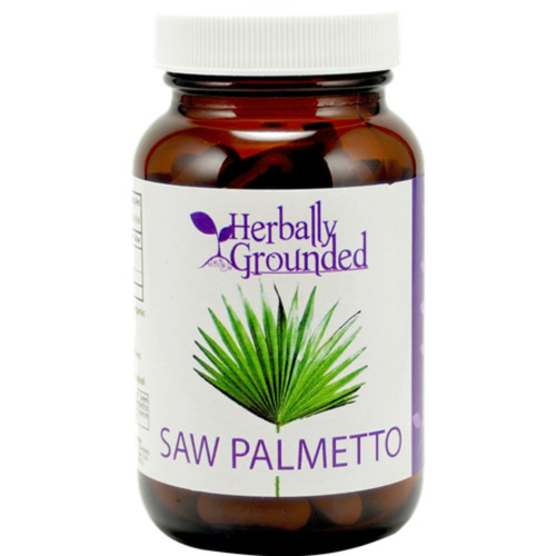 Herbally Grounded Saw Palmetto 100 caps
