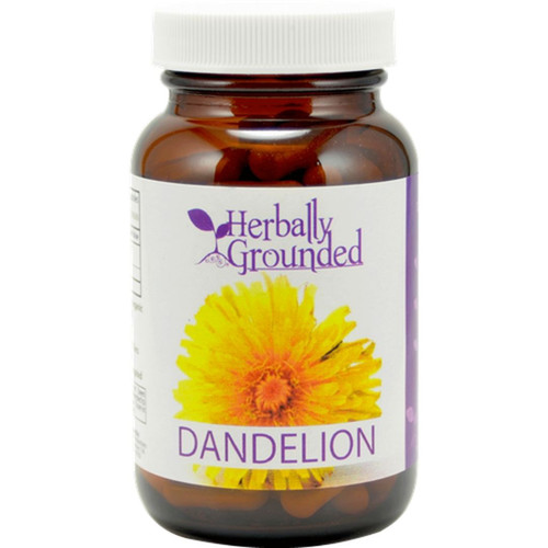 Herbally Grounded Dandelion 100 Capsules