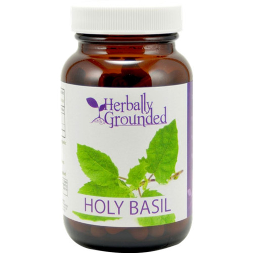 Herbally Grounded Holy Basil 100 caps
