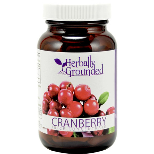 Herbally Grounded Cranberry Juice Concentrate 100 Capsules