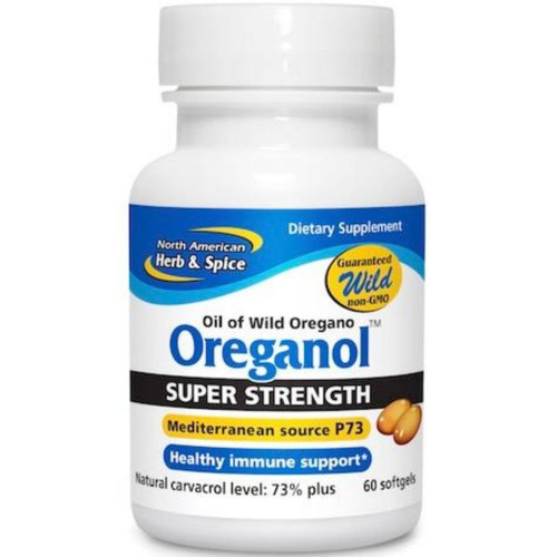 North American Herb & Spice Oreganol P73  Super Strength  60 Softgels