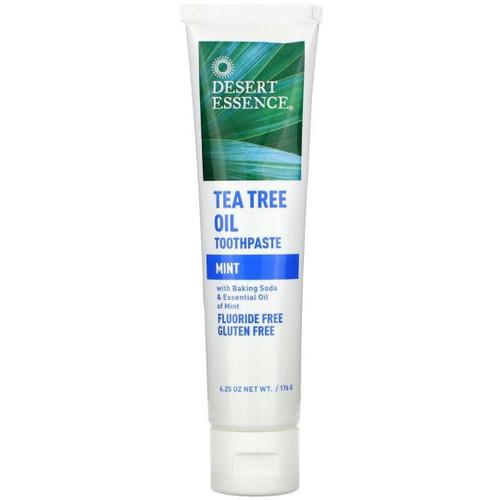 Desert Essence Natural Tea Tree Oil Toothpaste - Mint 6.25 oz