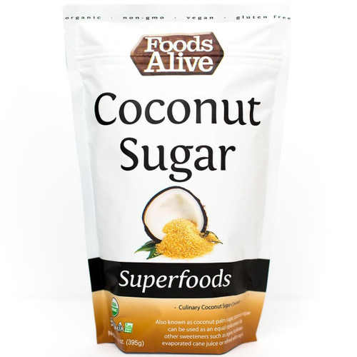 Foods Alive Coconut Sugar  14 oz.