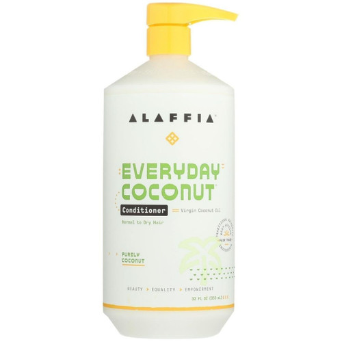 Alaffia Conditioner - Coconut & Ginger - 32 fl oz