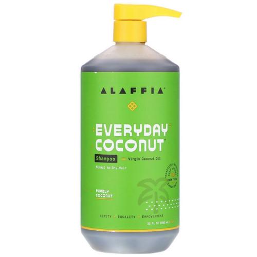 Alaffia Shampoo - Coconut & Ginger - 32 fl oz