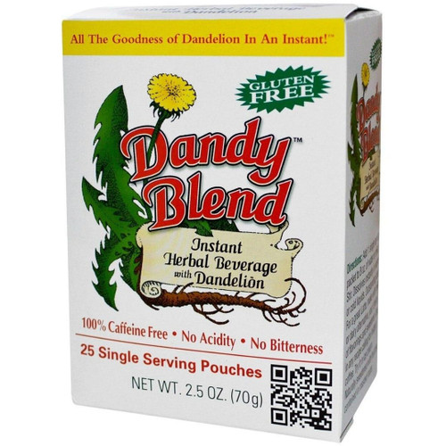 Dandy Blend Instant Herbal Beverage 25 single serving pouches (2.5 oz)