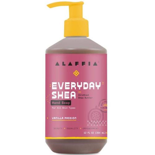 Alaffia Everyday Shea Hand Soap - Vanilla Passion - 12 fl oz