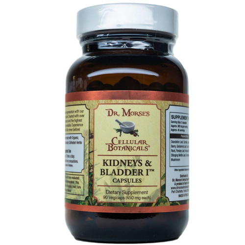 Dr Morse Kidney & Bladder Tonic I Capsules (90 Caps)