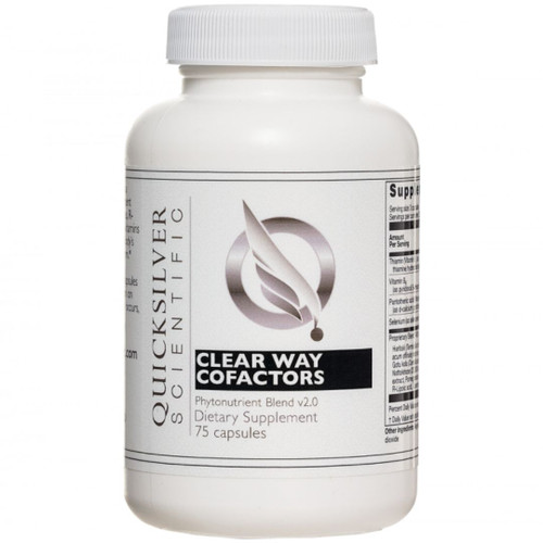 Quicksilver Scientific Clear Way Cofactors Antioxidant Blend 75 caps