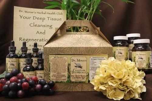 Dr. Morse's Deep Tissue Cleansing & Regeneration Kit Weeks 1-2