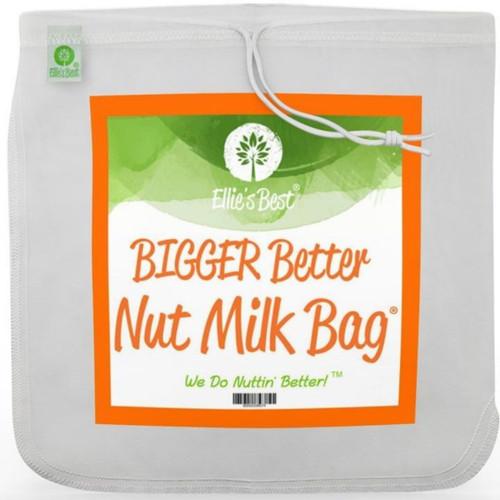 Ellie's Best Pro Quality Reusable Nut Milk Bag